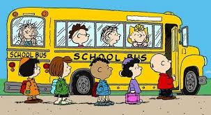 Snoopy school bus